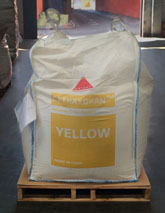 The company provides CATHAYGRANTM micro-granules in bulk bags as well as in 25 kg paper bags.  Image: CATHAY INDUSTRIES