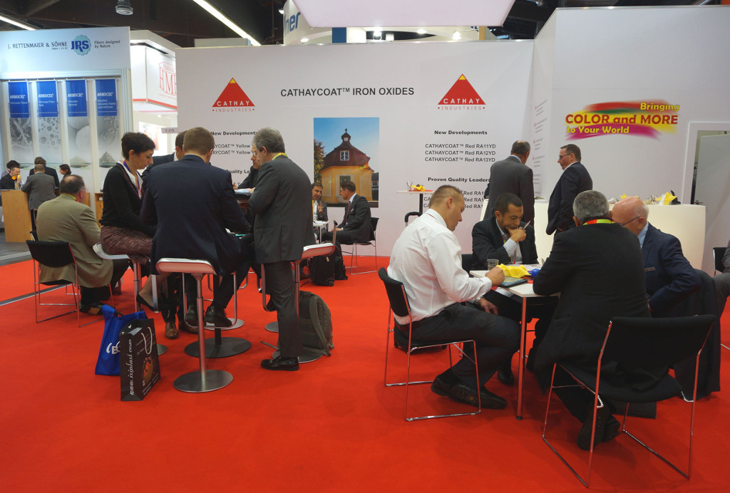 At the European Coatings Show 2017 in Nuremberg iron oxide pigments manufacturer CATHAY INDUSTRIES welcomed numerous visitors.