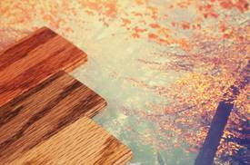 EnvironOxide® transparent pigments combine wood protection with sustainability towards nature.